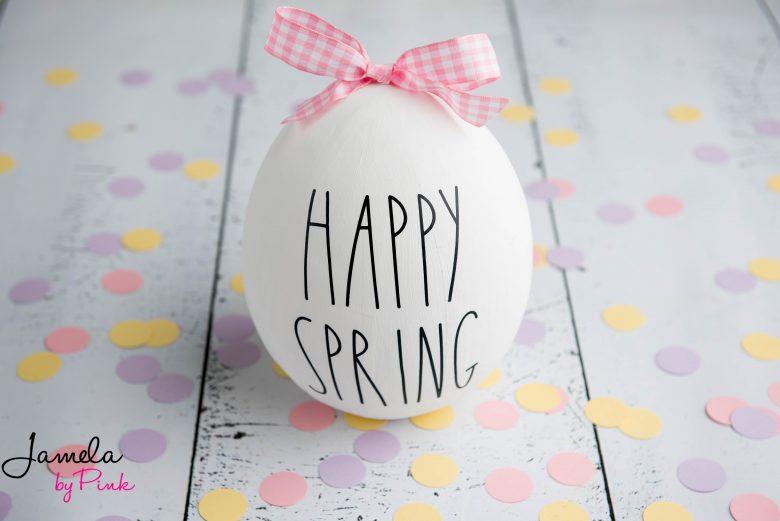 Giant Rae Dunn Easter Egg