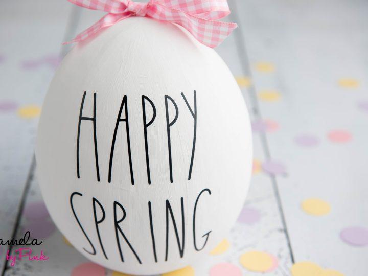 How To Make A Giant Rae Dunn Easter Egg