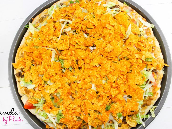 how to make easy taco pizza