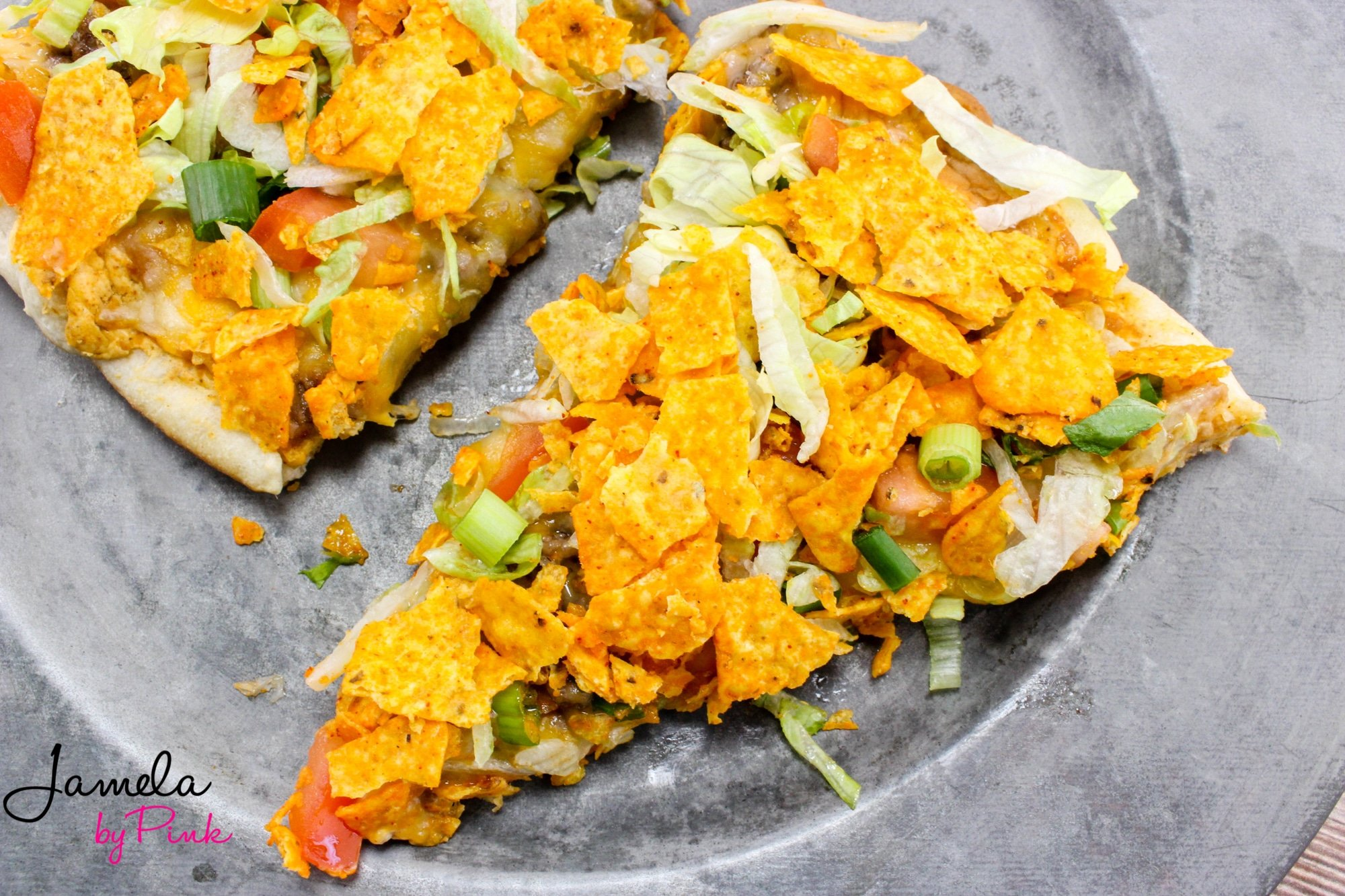 taco pizza bake recipe