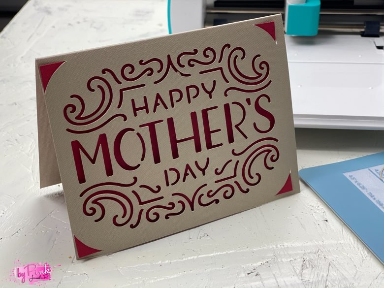 card with cricut