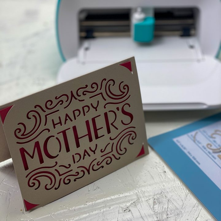 Free I recommend it to anyone that likes making things with paper and is experienced with computers. Diy Mother S Day Card With The Cricut Joy By Pink SVG, PNG, EPS, DXF File