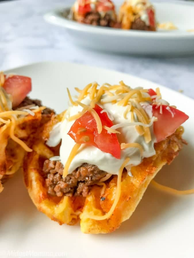 Keto Chaffle Taco Shells