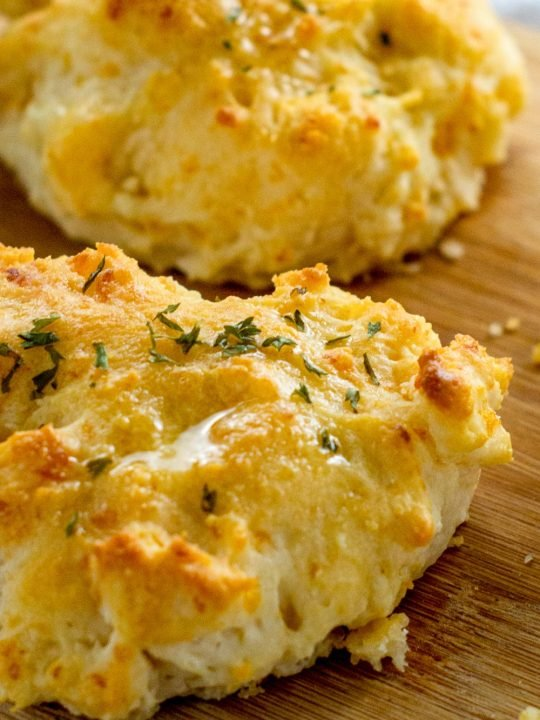 cheesy biscuit with air fryer