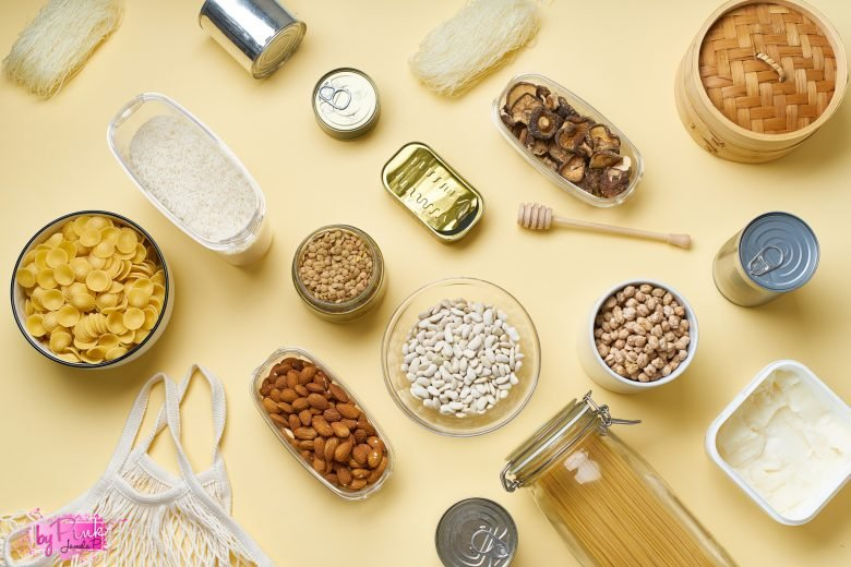 different foods for your pantry