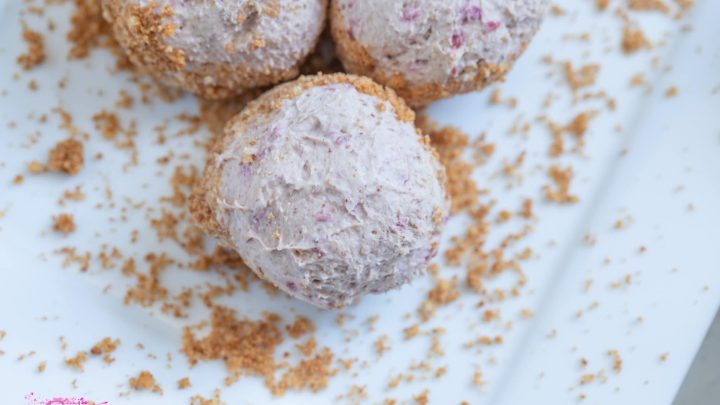 cheesecake low-carb energy ball