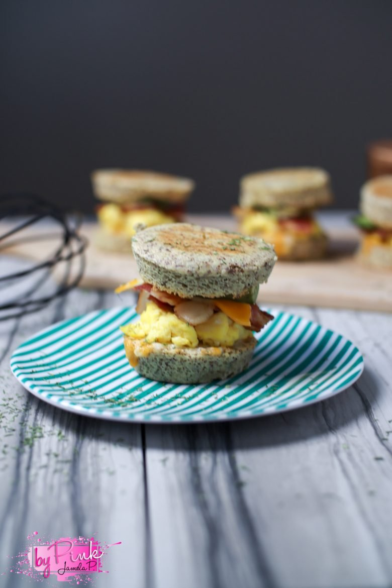 keto english muffin