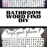 cricut home decor word find with text overlay