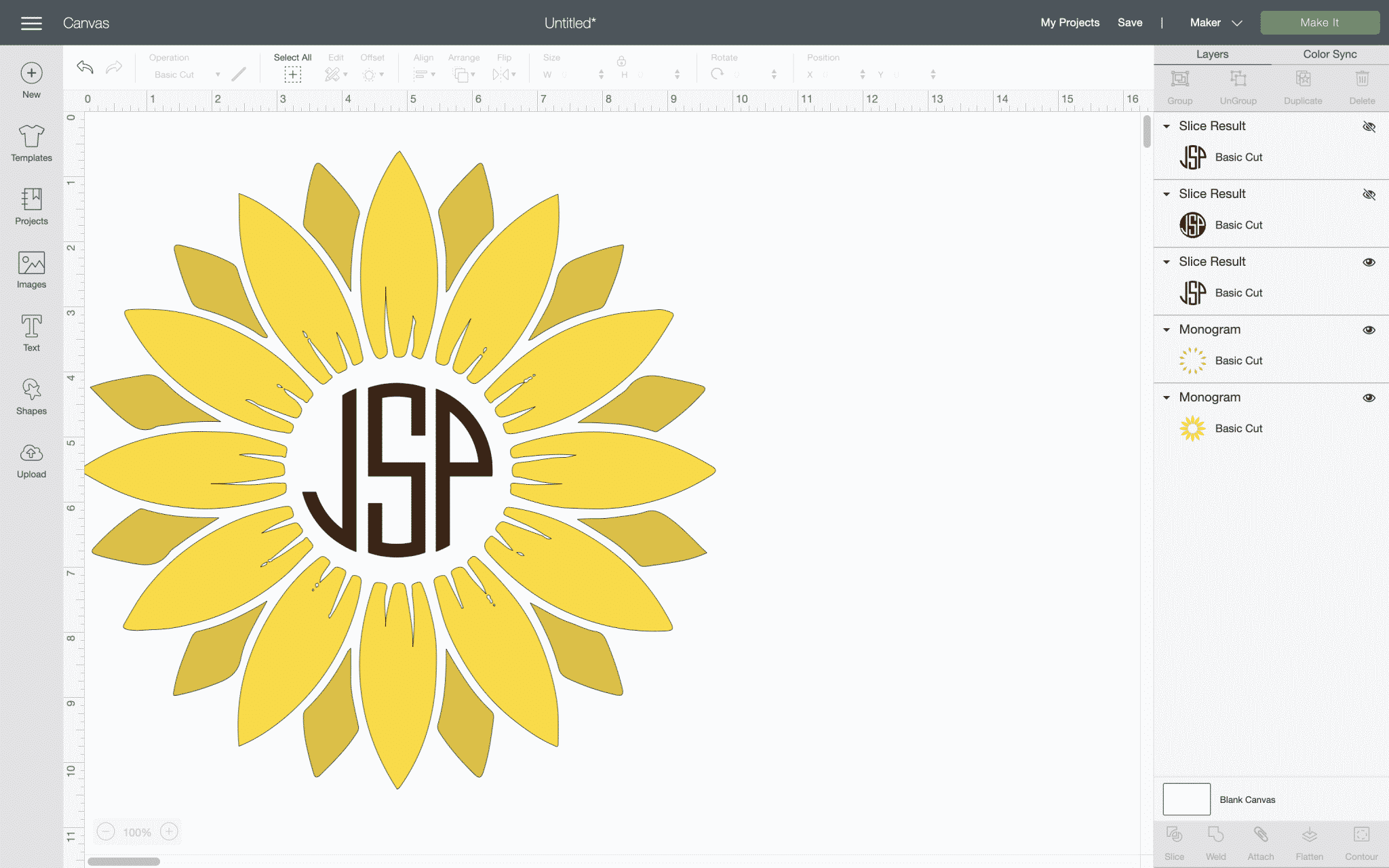 letters for a monogram