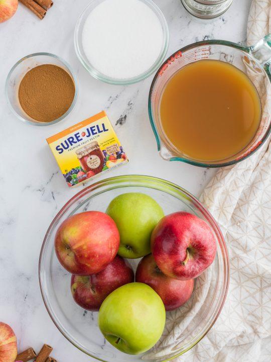 apple jam ingredients